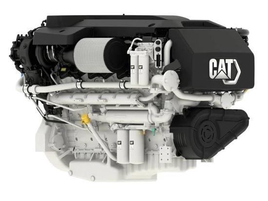 Cat C32B Triple Turbo