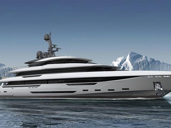 Rossinavi has introduced King Shark, a brand-new 70 metre superyacht