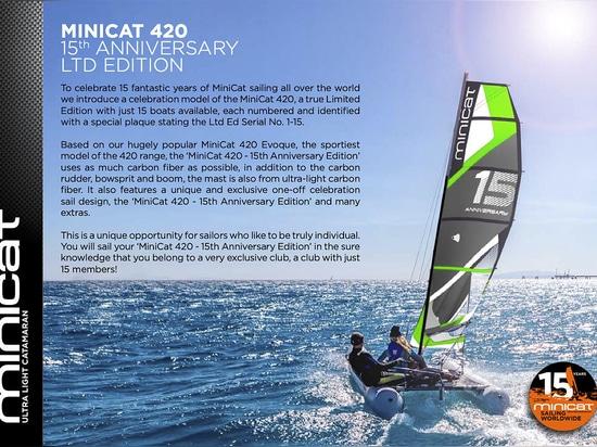 MINICAT 420 – 15TH ANNIVERSARY LTD EDITION