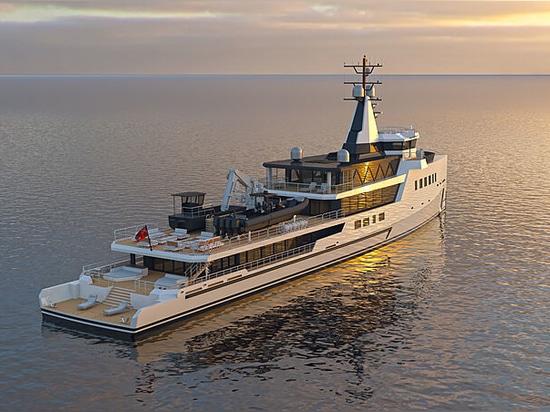 Damen Yachting signs new 72m hybrid explorer yacht