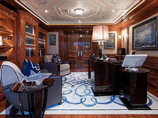 Inside the 87m Lürssen superyacht Ace