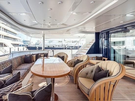 62m Lürssen motor yacht Avanti on the market