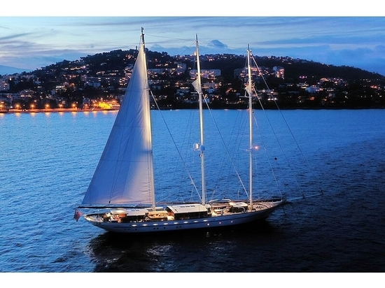 65m Dykstra sailing yacht Mikhail S. Vorontsov for sale