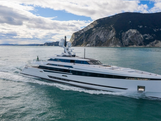 Columbus S50 superyacht launched and named K2