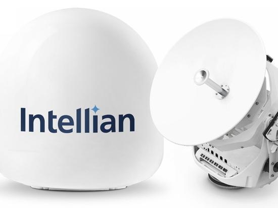 Intellian's innovative new v45C antenna brings VSAT to smaller vessels