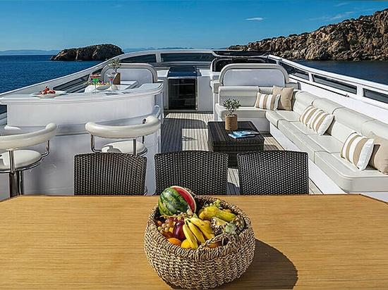 New to market: 35m Maiora motor yacht Paris A
