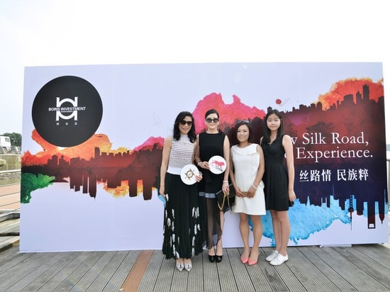 Unveiling ceremony for 2015 Yachting Shanghai
