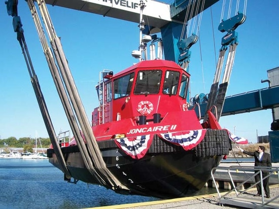 Great Lakes Shipyard completes tug for New York