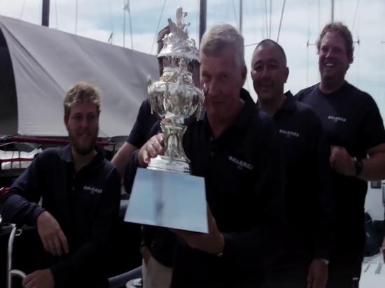 Rolex Sydney Hobart Yacht Race - Overall Win for Balance - 31 Dec 2015