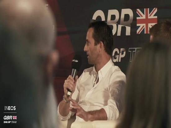 BEN AINSLIE'S INEOS TEAM UK JOINS GREAT BRITAIN SAILGP TEAM