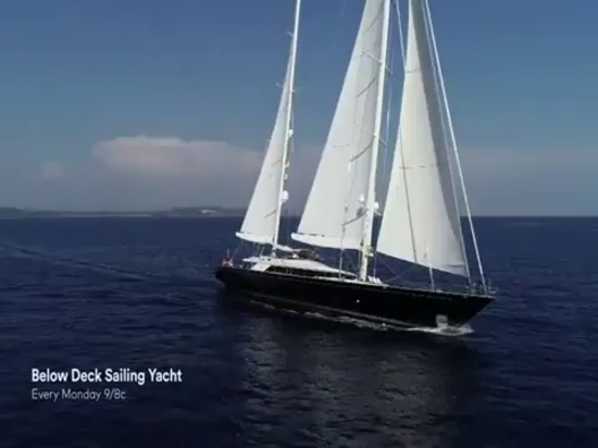 The trailer for Below Deck Sailing Yacht