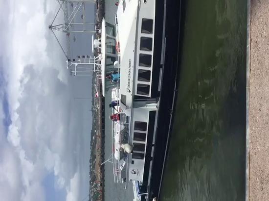 The Spirit of Doolin finally docked in Ireland!
