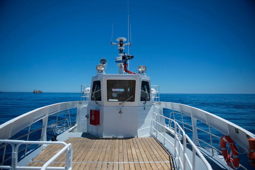 乗組員ボート Magen Defender, Masud Defender船内機アルミニウム製