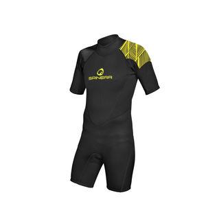 水上スポーツ用ウェットスーツ / 半袖 / フルタイプ / オーバーニー