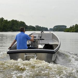 プッシュタグボート業務用ボート / 船内機 / ディーゼル式 / アルミ製