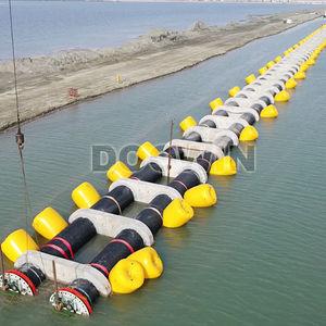 パイプライン用浮き / 円筒形 / 膨張式