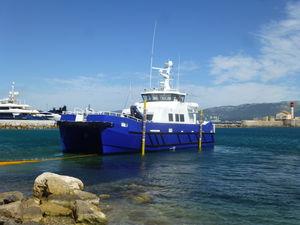 風力タービン用ケーブル用オフショア支援船