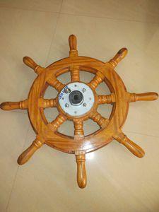 木製ステアリングハンドル