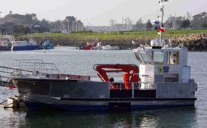 作業船業務用ボート / 船内機 / アルミ製