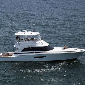 クルージングモーターヨット / スポーツフィッシング / フライブリッジ / 移動用船艇
