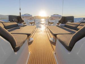 クルージング帆船 / オープントランサム / ブリッジサロン / 4つ~5つのキャビン