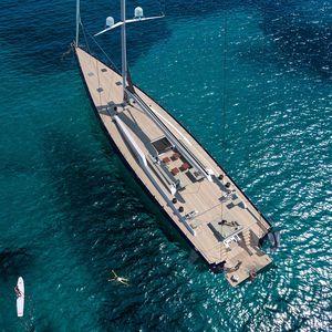 クルージング豪華帆船 / オープントランサム / キャビン3つ / スループ型