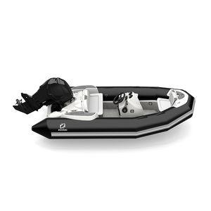 船外インフレータブルボート / 半硬式 / オープン / サイド コンソール