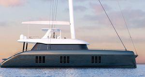 クルージング帆船 / フライブリッジ