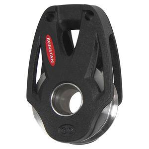 ボールベアリングブロック / 単一 / テキスタイル固定用 / 最大ロープサイズ:8 mm