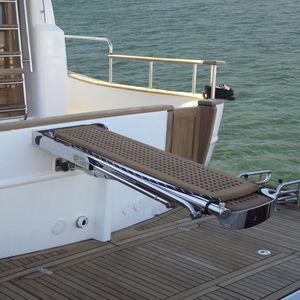 ボート用ギャングウェイ / ヨット用 / 伸縮式 / 多機能