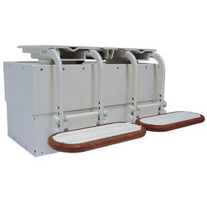 ボート用パイロットシート用脚 / 調節可能 / 電動 / アルミ製