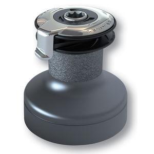セルフテーリングウィンチ / 油圧 / 二速 / クロム製