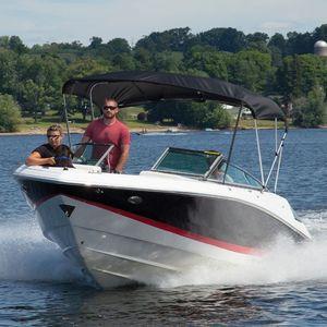 モーターボート用ビミニトップ