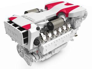 船内エンジン / ボート / ディーゼル式 / ターボ過給