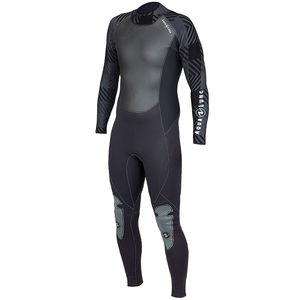 潜水ウェットスーツ / 長袖 / ワンピース型 / 3 mm
