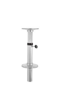 空圧テーブル用柱脚