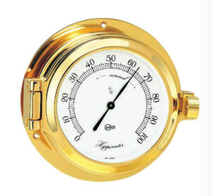 アナログ式湿度計