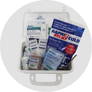 防水性救急箱