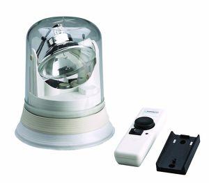 調査用フラッドライト / ボート用 / ハロゲン / 遠隔操作式