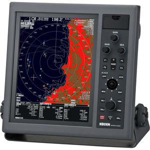 船用レーダー / ARPA / カラー / AIS付き