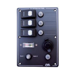 ボート用電子ボード / 防水 / 電流 / ボルトメーター付き