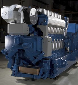 船用発電機セット / ディーゼル式 / 補助