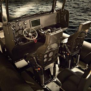 舵用シート / バケット / 操縦士用 / 船用
