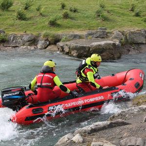 救助船業務用ボート / 船外機 / 空気圧式船