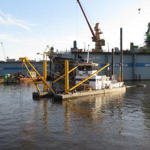 ポンプ浚業船専用船