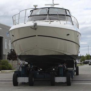 大型ハンドリングトレーラー / 造船所用 / 自走式 / 遠隔操作