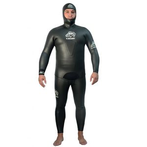 水中狩猟スーツ / 無呼吸用 / ウェットスーツ / 2 ピース