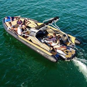 ジェットスキー推進インフレータブルボート