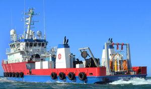 潜水用サポート専用船