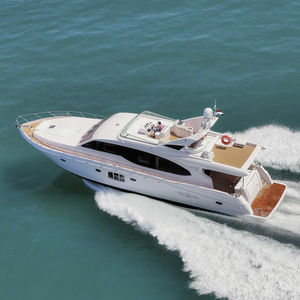 クルージングモーターヨット / フライブリッジ / 移動用船艇 / キャビン4つ